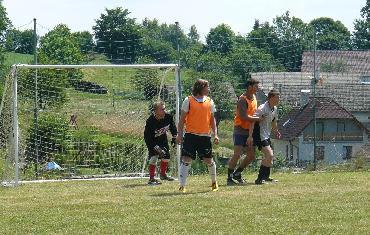 Fotbalový turnaj ve Věcově