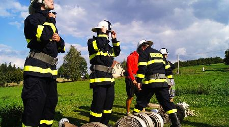 Sportovní den hasičů Míchov 7.9.2012